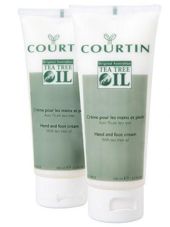 Courtin antiseptic bőrpuhító kéz és lábkrém