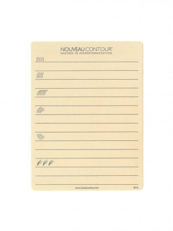 Nouveau Contour Pro gyakorlópad szemöldökhöz