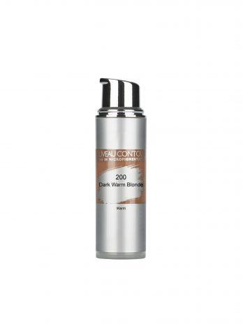 Nouveau Contour Dark Warm Blonde szemöldök organikus pigment